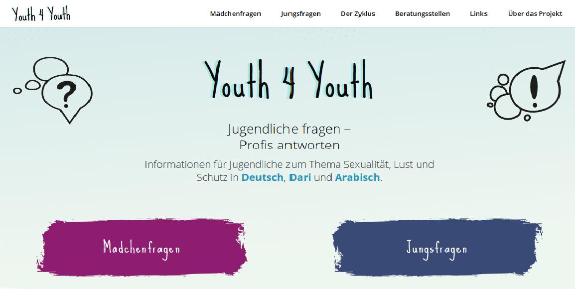 """""""Youth 4 Youth""""-Aufklärungsprojekt für geflüchtete Jugendliche jetzt online"""