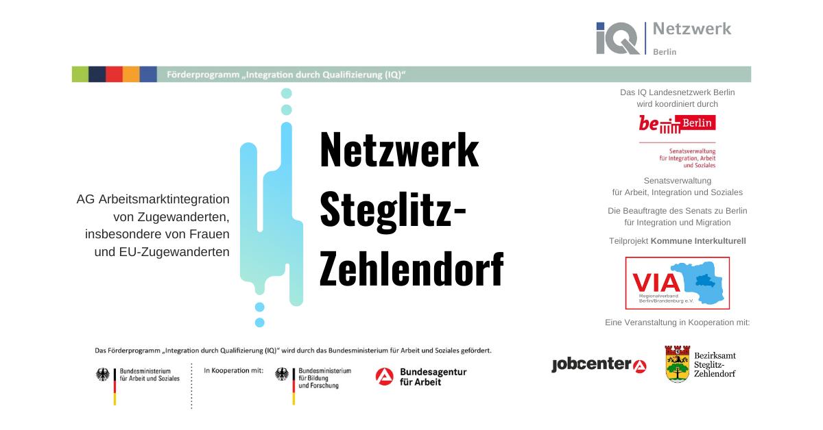Netzwerktreffen Steglitz-Zehlendorf Banner
