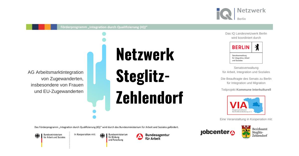 Poster Netzwerktreffen Steglitz-Zehlendorf